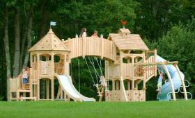 Міні місто для дітей з майданчиками Q-HOUSE