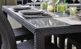 Важность правильной высоты стола и стула  в ротаноговой мебели