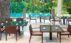 Мебель из ротанга для ресторанов