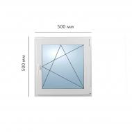 Окно поворотно-откидное 550x550 мм, Framex