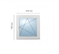 Окно поворотно-откидное 550x550 мм