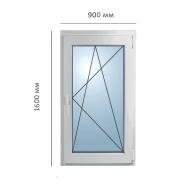 Окно поворотно-откидное 900x1600 мм, Framex