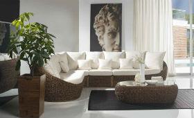 Преимущества мебели из искусственного ротанга.