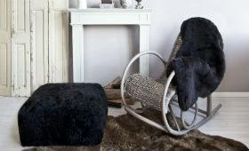 Мебель из искусственного ротанга в разных интерьерах