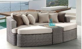 Де купити дивани зі штучного ротанга?