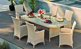 Покупаем садовую мебель из искусственного ротанга: советы