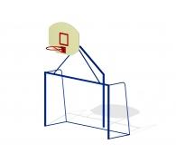 Ворота мини с баскетбольным щитом