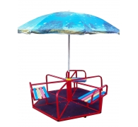Карусель детская с зонтом