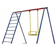 Качеля одноместная +лестница