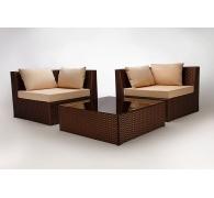 Коллекция мебели в лаунж зону