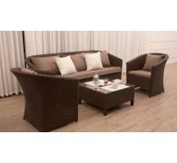 Комплект мебели диван, 2 кресла и столик журнальный