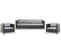 Плетеный комплект мебели