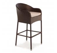 Барное кресло из ротанга