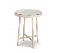 Плетений стіл високий