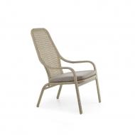 Кресло из ротанга высокое, Lazy