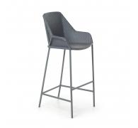 Кресло из ротанга барное