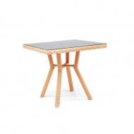 Плетеный стол из ротанга, 80см, Flash