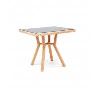 Плетеный стол из ротанга, 80см