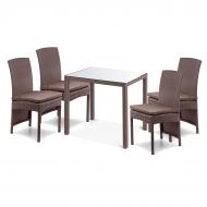 Комплект мебели: стол 80см + 4 стула высоких, Galant