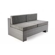Прямой элемент дивана из ротанга, Grand