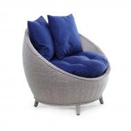 Плетеное ротанговое кресло, Kivi