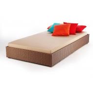 Кровать из ротанга, Kvadro