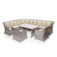 Комплект мебели угловой из ротанга, Marsel