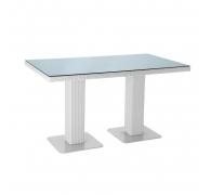 Плетеный стол из ротанга