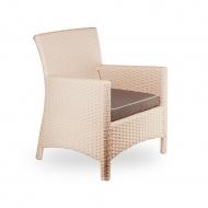 Плетеное кресло из ротанга, Omega