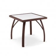 Плетеный стол из ротанга, 80см, Palermo