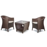 Набор мебели: 2 кресла и столик кофейный, Paradiz
