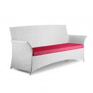 Плетеный трехместный диван из ротанга, Patio