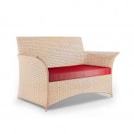 Плетеный двухместный диван из ротанга, Patio