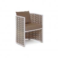 Кресло плетеное, Tin