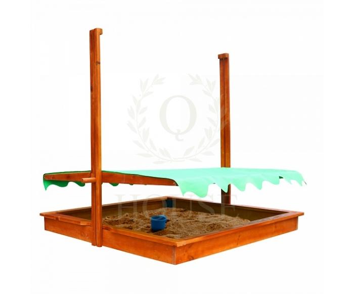 Песочница с навесом