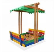 Пісочниця дерев'яна кольорова