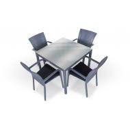 Комплет мебели стол 90 см + 4 стула, Kipr