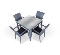 Комплет мебели стол 90 см + 4 стула