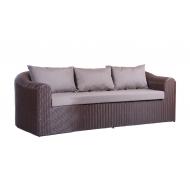 Плетеный ротанговый диван, Ampir