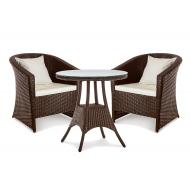Комплект мебели: столик и 2 кресла, Barselona