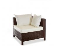 Угловой элемент дивана из ротанга