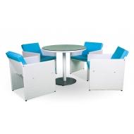 Комплект мебели стол 90см + 4 стула, Nemo