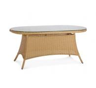 Стол обеденный из ротанга