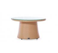 Журнальный ротанговый столик