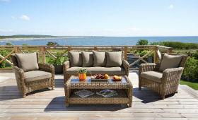 Что такое плетеная мебель из искусственного ротанга?